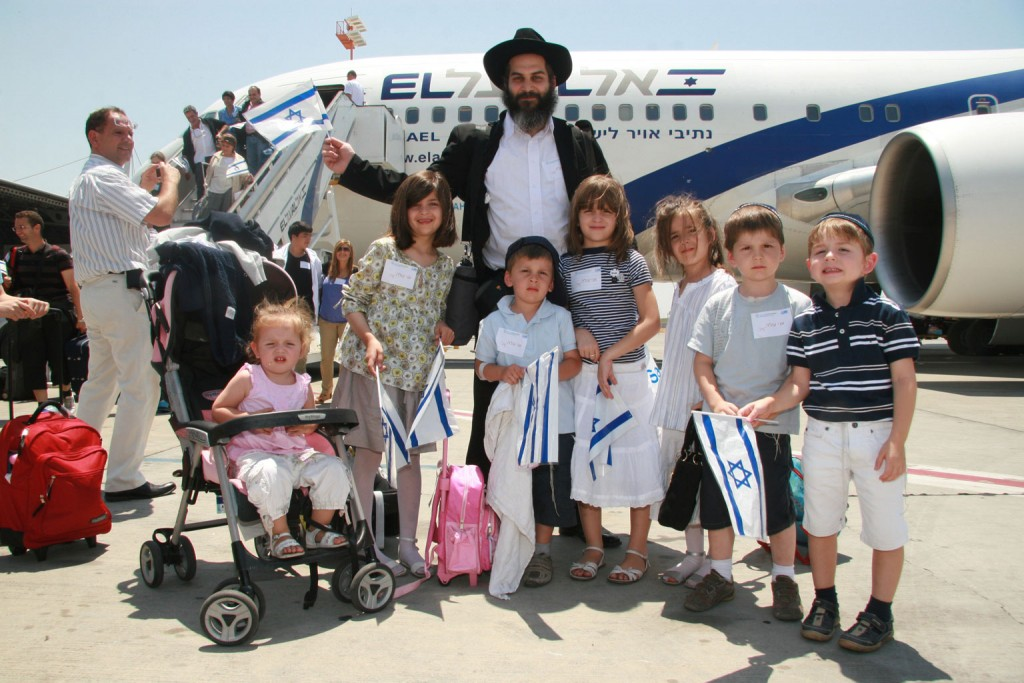 Alija. Fot. The Jewish Agency for Israel, Flickr CC by 2.0.