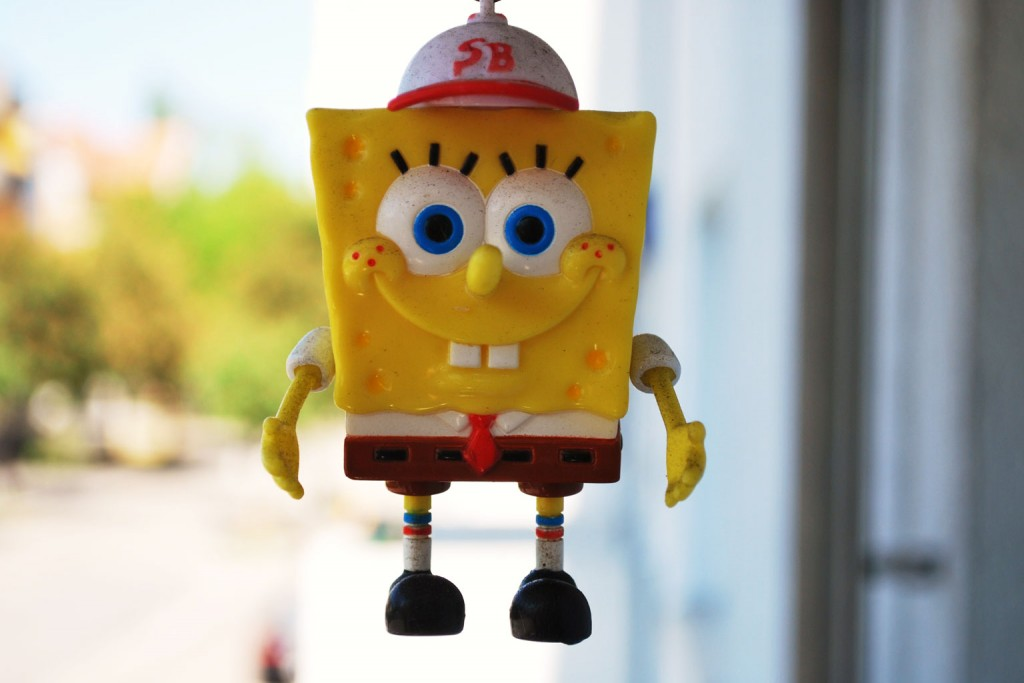 SpongeBob... Fot. Norlando Pobre, Flickr, CC by 2.0.